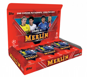 2020-21 Topps Merlin Chrome UEFA Champions League Complete Your Base Set #1-100