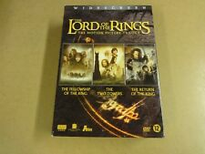 6-DISC DVD BOX / THE LORD OF THE RINGS - THE MOTION PICTURE TRILOGY