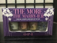 OPI The More The Marry-ier Mini Nail Lacquers Polish 4 pc Set 1/8oz