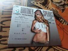 More details for britney spears onyx tour wembley london used ticket 2004