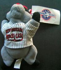 New Britain ROCK CATS Minor League BASEBALL Defunct Team Mascot ROCKY PLUSH