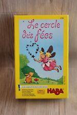 Jeu de dessin et de mémoire pour enfants Le cercle des fées Haba - complet