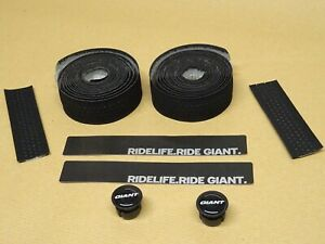 Giant Contact SLR Lite Bar Tape 1.5mm Race Handlebar Tape Tacky Black