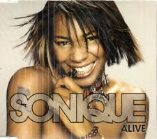 SONIQUE ALIVE CD Single Techno HOUSE DANCE MAX MUSIC ARCADE