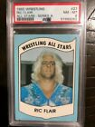1982 Wrestling All Stars Ric Flair PSA 8 Rookie Card RC #27 Series A GOAT