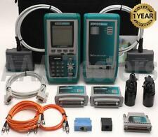 Fluke Microtest OMNIScanner Cat5e Cat6 Certifier Tester OMNI MM Fiber