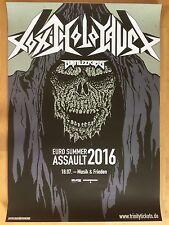TOXIC HOLOCAUST 2016 BERLIN   ++  orig.Concert Poster - Konzert Plakat  NEU