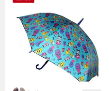 Betsey Johnson Nerdy Skull Umbrella Auto Open