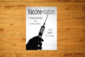 Vaccine Nation Sticker Packs (10-100)  Plandemic Lockdown Anti Vax Conspiracy