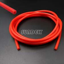 Silicone 3mm x 5Meter Vacuum Hose - Tube - Boost - Water - Pipe Line Red AU
