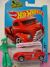 Case B/C 2015 i Hot Wheels MIG RIG #9∞Red; Road Service∞HW City Works