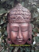 NEW RUBBER LATEX MOULD MOULDS MOLD TO MAKE BUDDHA HEAD WALL PLAQUE 1