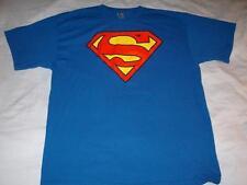 Superman DC Comics Blue Alstyle Apparel T-Shirt Mens X-Large XL used