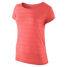 BN  Nike Dri-Fit Breeze Womens Short Sleeve Running Top