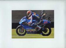 Alex Baldolini APRILIA 250 CC MOTO GP Donington 2008 firmato Fotografia