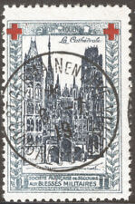 1914-16 Delandre Red Cross - Comite De Rouen Peace Congress canx..