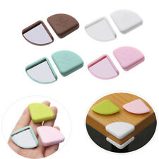 1/4X Baby Safety Corner Cushions Silicone Table Protector Desk Edge Guards Cover