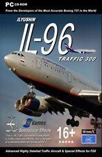 Ilyushin el tráfico il-96 300 para Microsoft Flight Sim X Nuevo y Sellado