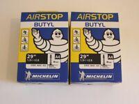 Lote 2 Cámara de aire bicicleta de montaña Michelin 29 pulgadas Presta