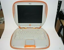 iBook G3 Clamshell Tangerine 300Mhz, 6Gb Hdd, | M2453 Tested Working M2 Rare