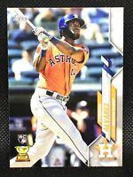 2020 Topps Yordan Alvarez Rookie RC Houston Astros Base #276