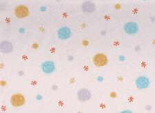 Cream Spot Flannelette