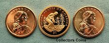 2009 Three Coin Sacagawea Native American PDS Set from Mint Rolls/Proof Sets