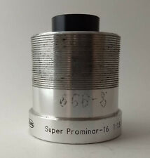 Kowa 38mm Bell and Howell  1:15/38 Projector Lens - ONE 1/2 INCH LENS