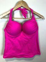 Victoria's Secret Bathing Suit top 36 C Pink Swim Padded