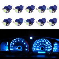 10X Ice Blue B8.5D 1-5050-SMD LED Dashboard Cluster Panel Lights Lamp FOR Benz