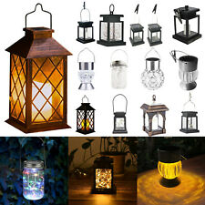 Hanging Solar Lantern.Powered Hanging Candle Lanterns/Lamp/Garden Light Outdoor