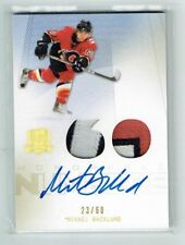 09-10 UD The Cup Honorable Numbers  Mikael Backlund  /60  Auto  Patches