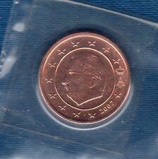 Belgique - 2007 - 2 centimes d'euro FDC provenant coffret BU 40000 exemplaires