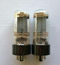 6P3S (6L6) POWER NOS TETRODE FOTON TUBES - MATCHED PAIR