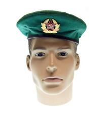 Military Beret Border troops Hat Russian Army Soviet Cap USSR Uniform