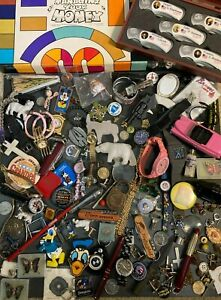 Junk Drawer Lot Jewelry, Knives, Coins, Vintage, Game, Watches & Much More