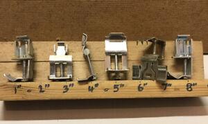 Stainless Steel Kitchen Sink Brackets Clips Fixing Plastic Metal Assorted Joblot