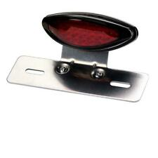 LED Rücklicht Old School Harley Chopper Classic Retro Caferacer schwarz rot