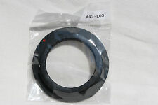 M42 screw mount metal adapter ring to CANON EOS EF cameras SLR or DSLR