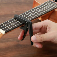 AU_ Quick Change Guitar Capo Tune Clamp Key for Acoustic Electric Guitar Ukulele