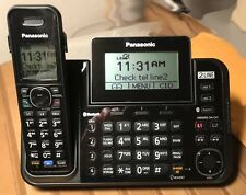 Panasonic KX-TG9542B Link2Cell Bluetooth Enabled 2 Line Phone 2 Cordless Handset