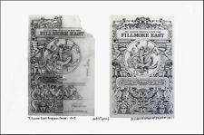 Fillmore East '69 Program Cover Image + Found Sketch A/P Signed David Byrd