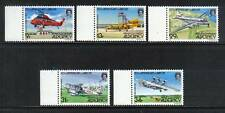 Alderney 1985 Airport 50th Anniversary-Attractive Airplane Topical (18-22) Mnh