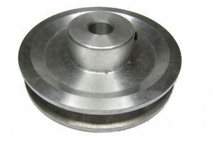 """RDGTOOLS 5"""" V PULLEY 19mm BORE / USED WITH V BELT / vee"""