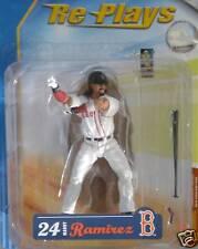 MLB RARE RE-PLAYS Series 1 MANNY RAMIREZ BOSTON RED SOX baseball action figure