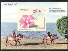 Paraguay 2007 Flowers/Plants/Nature/Diplomacy/Politics/Horses 1v m/s (n38717)