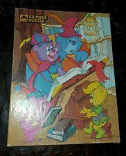 Vtg Disney Gummi Bears 63 Piece Children's Jigsaw Puzzle 1986 Gummy Golden