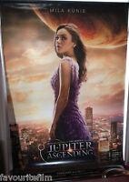 Cinema Banner: JUPITER ASCENDING 2015 (Jupiter Jones) Mila Kunis Channing Tatum