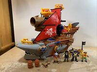 Fisher-Price Imaginext Shark Bite Pirate Ship Lot 4 Figures & Accessories