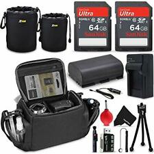 Professional Accessories for Canon EOS R6 R5 R 90D 80D 70D 60D 5D II DSLR Camera